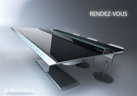 cuisine innovation the table that is a kitchen rendez vous an electrolux visionary concept based on kitchen and