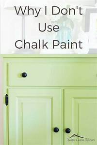 how to use chalkboard paint Why I Don't Use Chalk Paint - Newton Custom Interiors