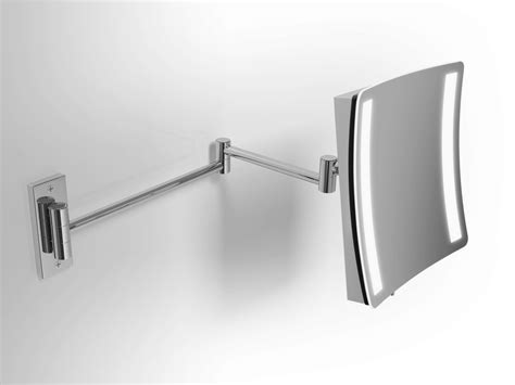 Shaving Mirror With Integrated Lighting By Alna