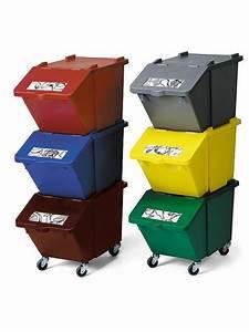 Bac De Rangement Avec Couvercle : poubelles et conteneurs haccp vivier online ~ Teatrodelosmanantiales.com Idées de Décoration