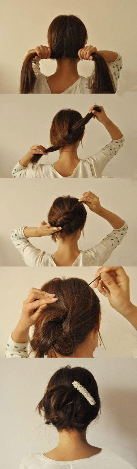 quick and chic hairstyle tutorials for lazy girls pretty