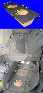 Speaker Sub Enclosures  Toyota Tundra Double Cab 2004