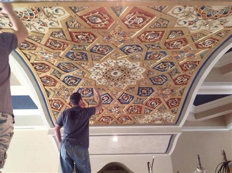 aztec scenic design creates custom  printed arabian