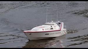 Azimut Atlantic Challenger Von Graupner  Testlauf Mit