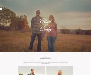 16 Beautiful Html Wedding Website Templates 2019