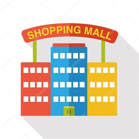 Mall Clipart Shopping Mall Flat Icon Stock Vector 169 Yitewang 88036132