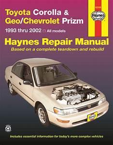 Toyota Corolla  Geo Chevrolet Prizm Haynes Wiring Diagram