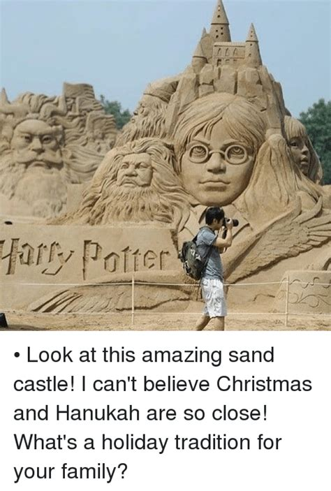 believe home ary potter look at this amazing sand castle i can 39 t