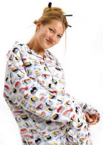 the cat s pajamas the cat s pajamas s white quot sushi quot classic poplin
