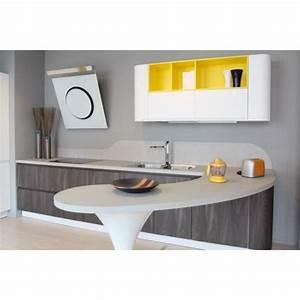 Table Plan De Travail Cuisine : le plan de travail de cuisine arrondi ~ Melissatoandfro.com Idées de Décoration