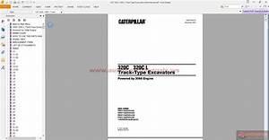 Cat 320c  320c L Track-type Excavators Parts Manual