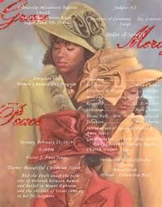 Women Day Church Program Covers