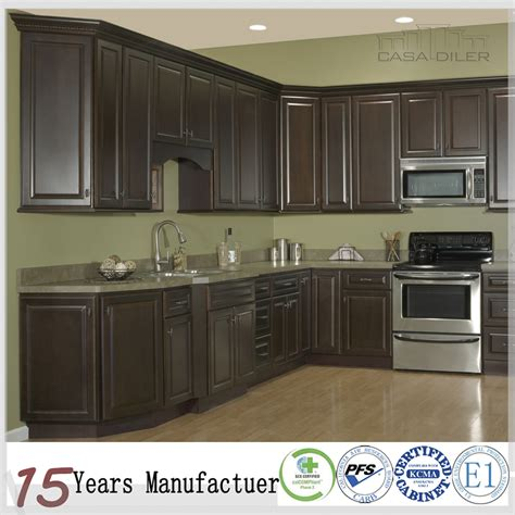 kitchen cabinet products espresso wood american standard kitchen cabinet buy 2691