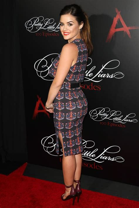 Lucy Hale at 'Pretty Little Liars' 100th Episode ...