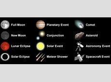 Astronomy Calendar of Celestial Events 2019 Sea and Sky