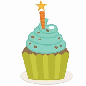 Birthday Cupcake SVG scrapbook birthday svg cut files ...