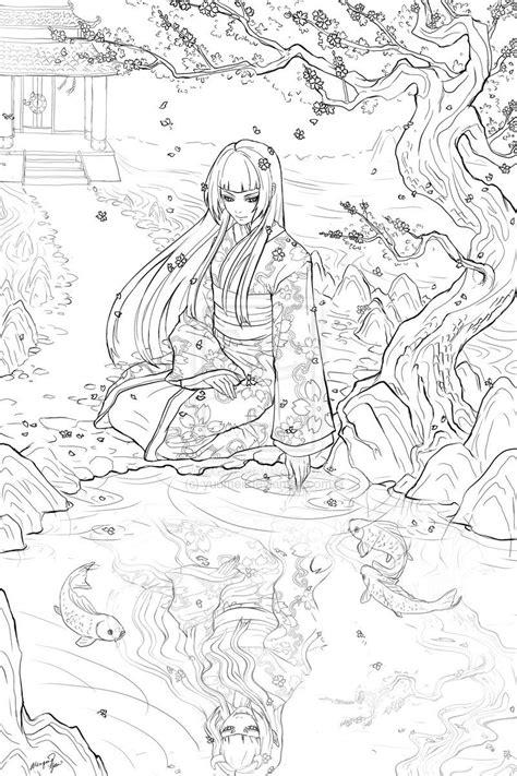 Geisha Commission by `yuumei on deviantART   Animal