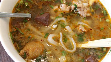 recette du soupe de p 226 tes de riz au poulet banh can cooking with morgane