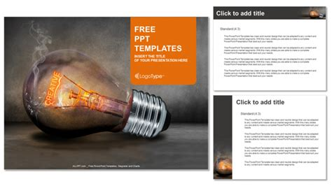creative bulb business powerpoint templates
