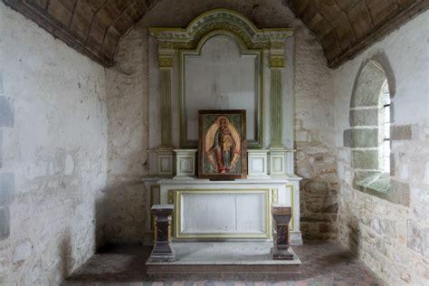mont michel interieur file int 233 rieur de la chapelle aubert le mont michel manche jpg
