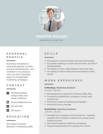 Resume Creator With Photo by Modern Professional Resume เรซ เม เรซ เม