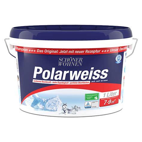 schoener wohnen polarweiss weiss   matt bauhaus