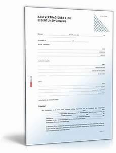 Rückabwicklung Kaufvertrag Immobilie : kaufvertrag eigentumswohnung muster zum download ~ Lizthompson.info Haus und Dekorationen