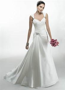 fluffy wedding dresses ivory satin cap sleeve cheap With cheap wedding dresses usa