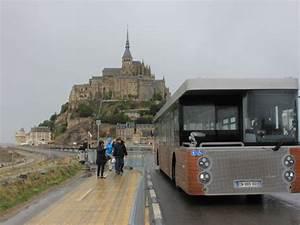 Navette Mont Saint Michel : mont saint michel l 39 ouverture du pont passerelle est imminente ~ Maxctalentgroup.com Avis de Voitures