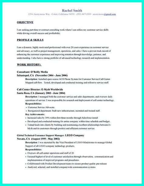 Senior Customer Service Representative Resume Objective by 2695 Best Images About Resume Sle Template And Format