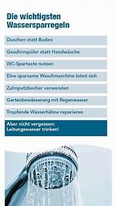Tipps Zum Geld Sparen : wasser sparen hilft geld sparen und die umwelt sch tzen ~ Lizthompson.info Haus und Dekorationen