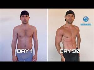 P90X2 - Dom's before and after results - YouTube