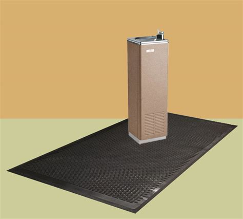 Drinking Fountain Mats are Water Fountain Mats by American