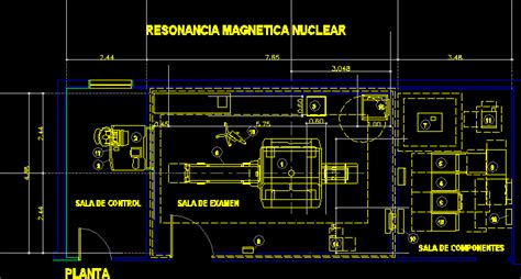 mri room  dwg block  autocad designs cad