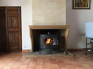 Installer Une Cheminée : installation d un po le a bois fonte dans une chemin e ~ Premium-room.com Idées de Décoration
