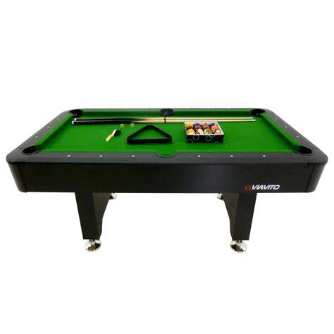 6 feet pool table viavito pt200 6ft pool table