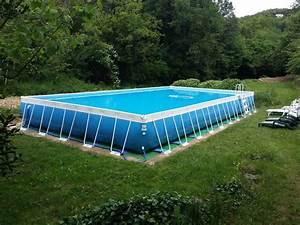 Enterrer Une Piscine Hors Sol : ponton pour piscine hors sol quelle piscine choisir le bricomag terrasse en bois autour d une ~ Melissatoandfro.com Idées de Décoration