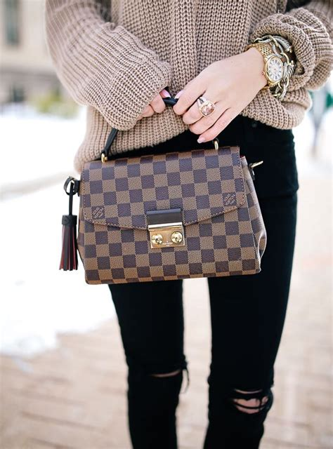 knotted  sweater louis vuitton monogram louis vuitton vuitton bag