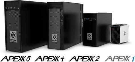 boxx mini itx workstation xeon intel tiny core pc unveils kitguru apexx processor system