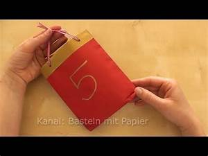 Bastelanleitung Für Adventskalender : adventskalender basteln bastelideen weihnachten advent weihnachtsdeko 2018 youtube ~ Michelbontemps.com Haus und Dekorationen