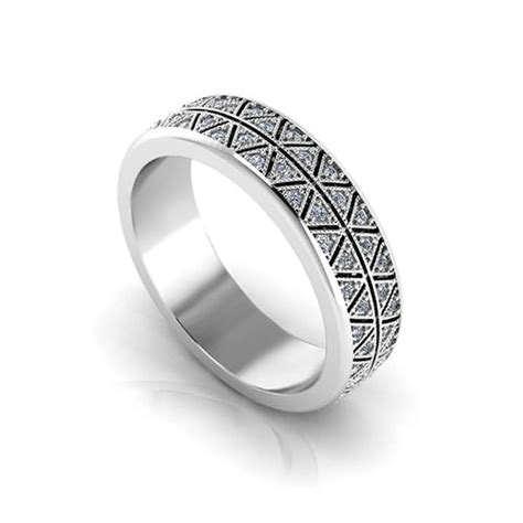 mens diamond eternity ring jewelry designs