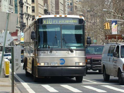 X10 Bus Linie X10 Am Madison Square Park Flatiron Building Hier