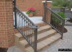 Outdoor Metal Handrails For Stairs by Railings Sunset Metal Fab Inc