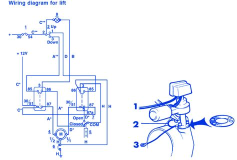 1997 Bayliner Wiring Diagram by Bayliner Liberty 2250 1977 Wiring For Lift Electrical