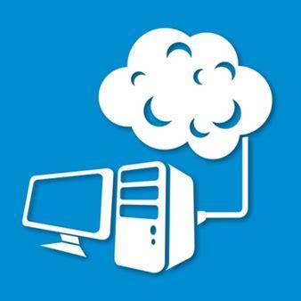 bureau de liaison nuage silhouette télécharger icons gratuitement