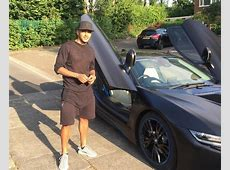 Leicester players spruce up their BMW i8's with Marlon