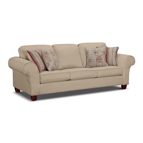 queen sleeper sofa sale queen sofa sleeper value city furniture sale value city