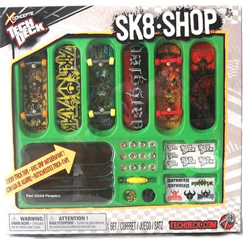 tech deck sk8 skate shop bonus pack darkstar