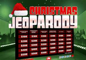 jeopardy game powerpoint template with music - christmas jeopardy powerpoint template youth