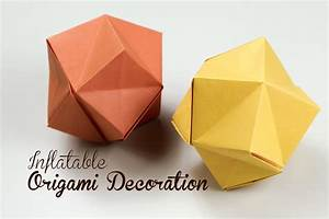 Origami Blow up Star Instructions